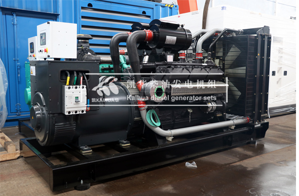 祝贺浙江某消防部门400KW发电机组成功出厂