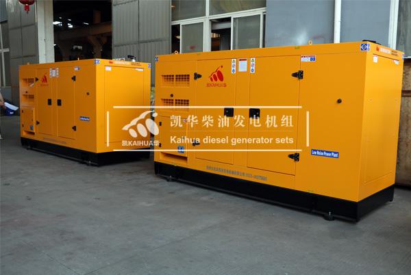 祝贺福建某能源企业2台100KW静音发电机组成功出厂