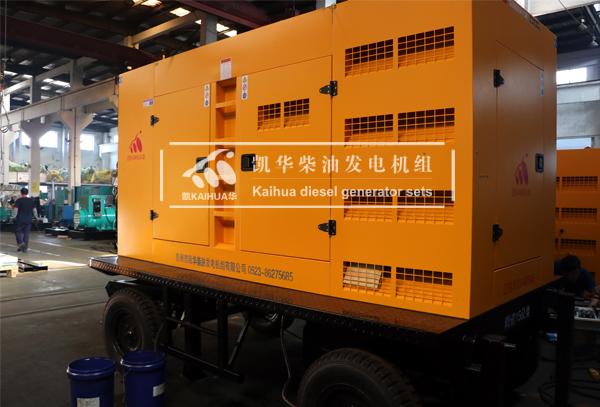 祝贺贵州某铁路部门200KW移动式发电机组成功出厂
