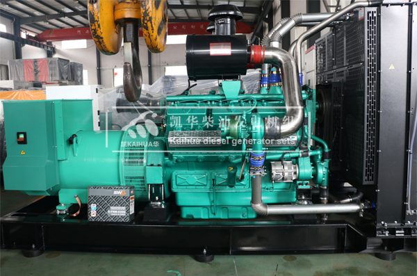 四川某环保工程600KW通柴发电机组成功出厂