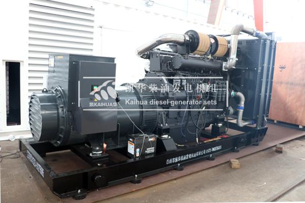 祝贺河北某公司600KW上柴发电机组成功出厂